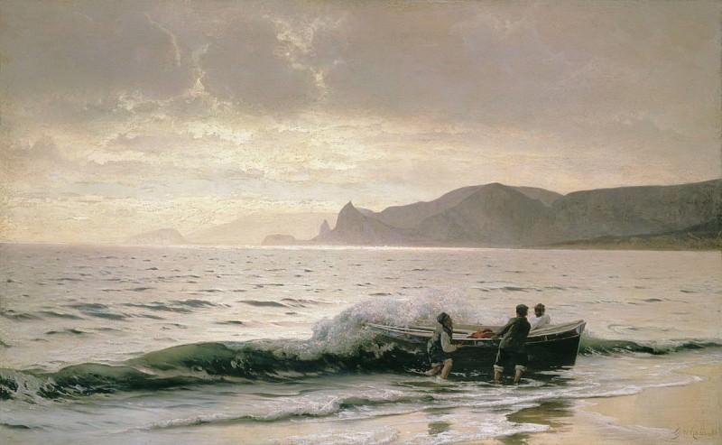 Берег моря у Судака (Крым). 1889. Владимир Орловский