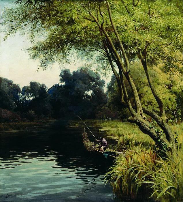 В луговых зарослях (Подольская губерния). 1890. Vladimir Orlovsky