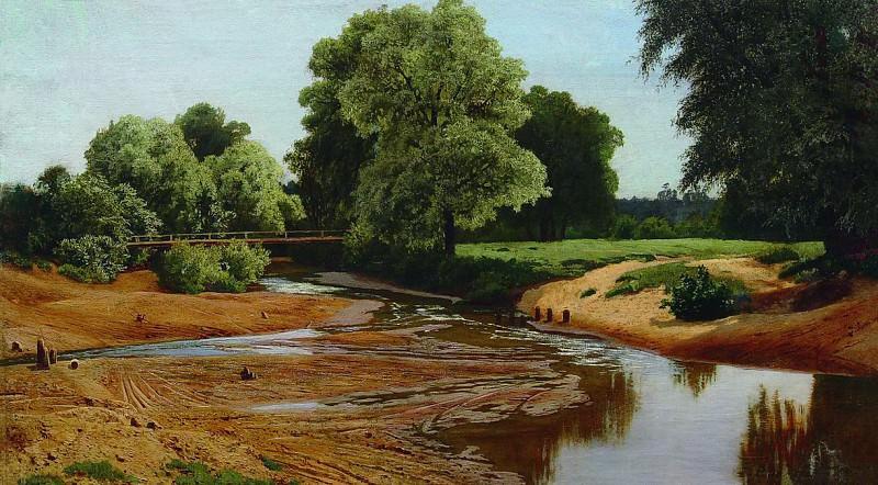 Летний пейзаж. 1877. Vladimir Orlovsky