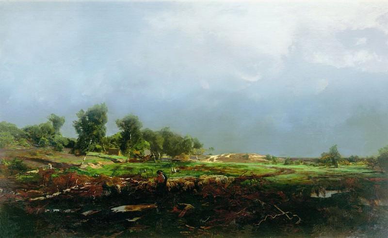 Буря в поле. Vladimir Orlovsky