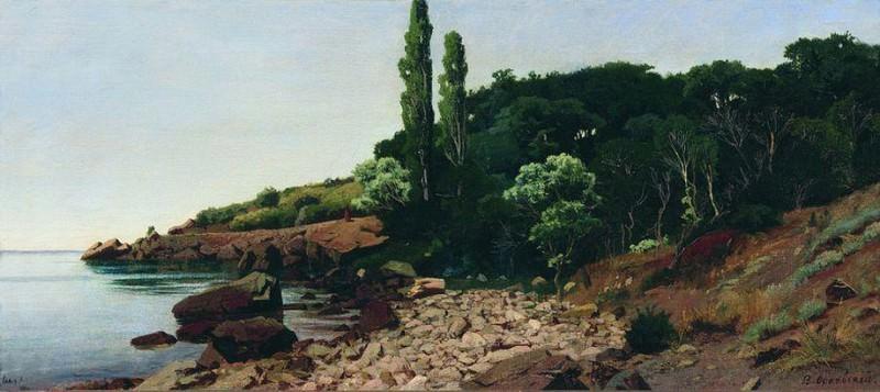 Крымский берег. 1890. Vladimir Orlovsky