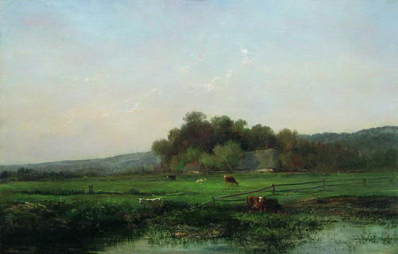 Пастбище. 1890. Vladimir Orlovsky