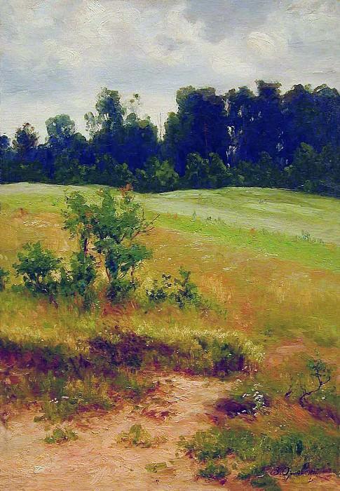 В поле. 1890. Vladimir Orlovsky