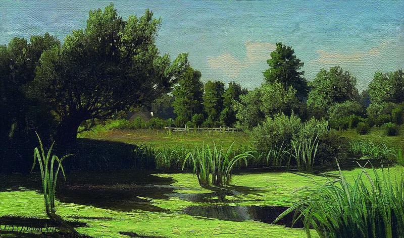 Пейзаж. Камыши на реке. 1880–1890-е. Vladimir Orlovsky