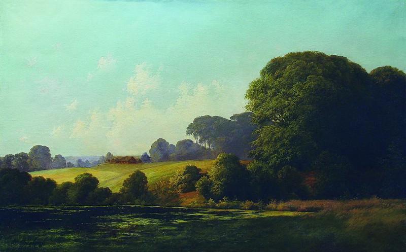 Пейзаж с прудом. Конец 1870-х. Vladimir Orlovsky