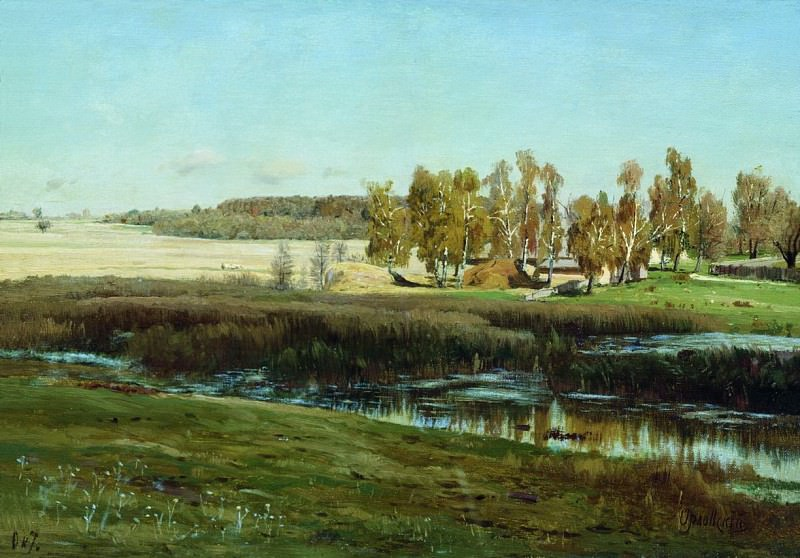 Пейзаж. Владимир Орловский
