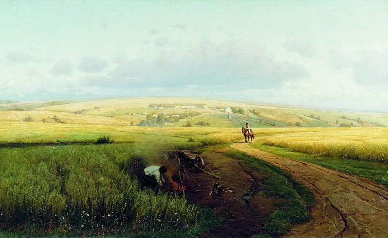 Костер в поле. Vladimir Orlovsky
