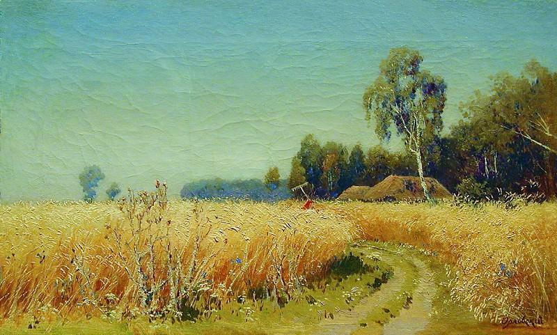 Хлеба зреют. 1870. Vladimir Orlovsky