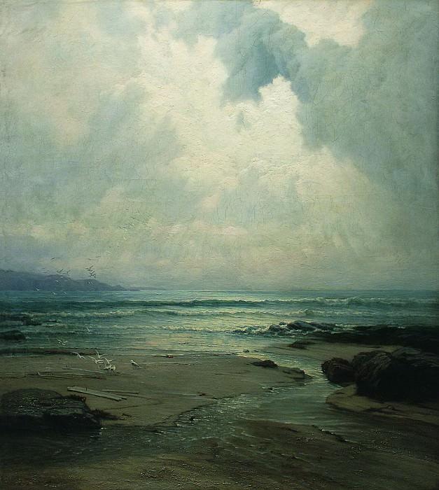 Морской пейзаж. 1880-е. Владимир Орловский