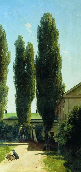 Жаркий полдень в южной усадьбе. 1868. Vladimir Orlovsky