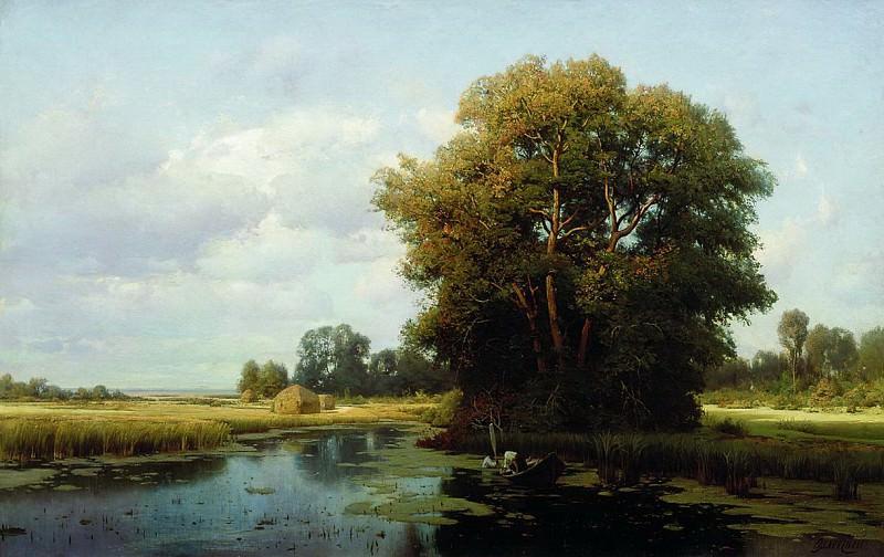 Пейзаж с болотом. Vladimir Orlovsky