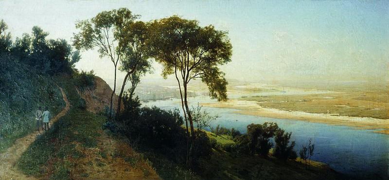 Окрестности Киева. Над Днепром. 1884. Vladimir Orlovsky