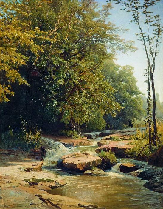 Пейзаж с горным ручьем. Vladimir Orlovsky