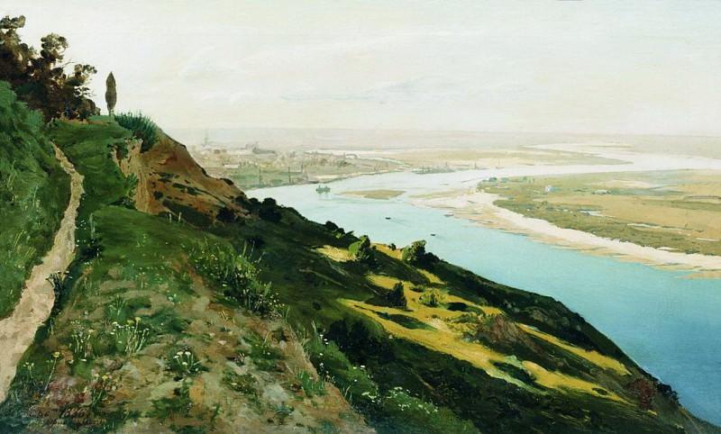 Окраины Киева. 1886. Vladimir Orlovsky