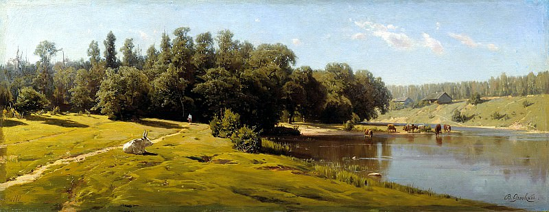 Полдень. 1880. Vladimir Orlovsky