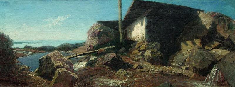 Дом возле моря. 1871. Vladimir Orlovsky