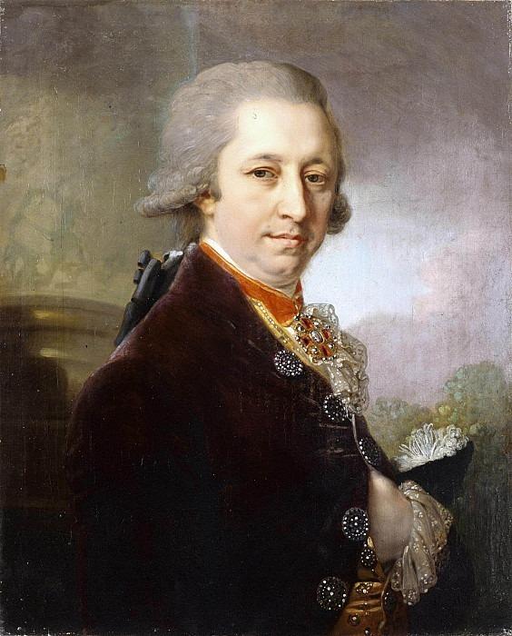 Portrait of I.M. Yakovlev. Vladimir Borovikovsky