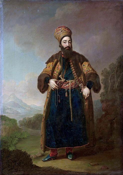 Murtaza Kuli-Khan. Vladimir Borovikovsky