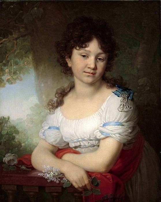 Portrait of Countess Maria Orlova-Denisova. Vladimir Borovikovsky