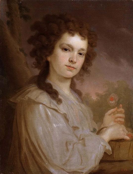 Portrait of Olga Kuzminichna Filippova. Vladimir Borovikovsky