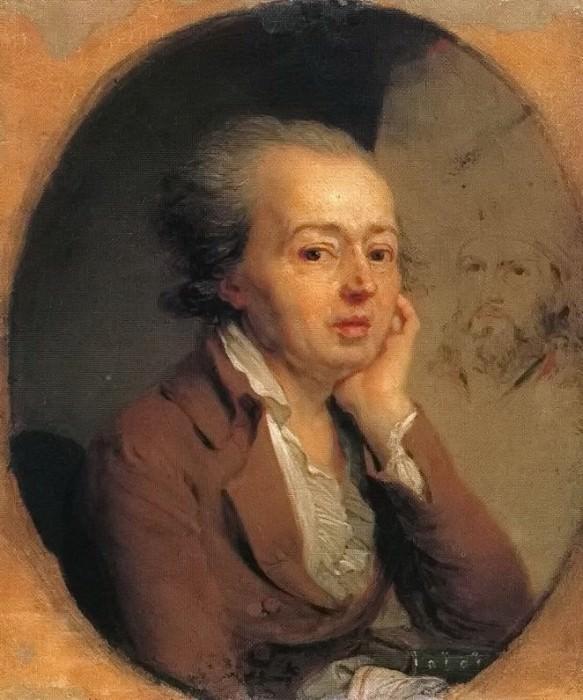 Portrait of the artist Dmitry Levitsky. Vladimir Borovikovsky