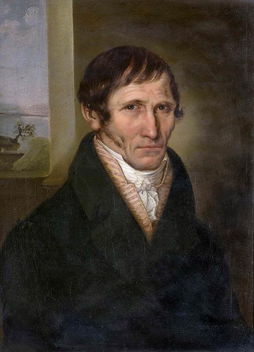 Portrait of the estate manager Krasnopolets of the Pskov province of the Kholm County. Vladimir Borovikovsky