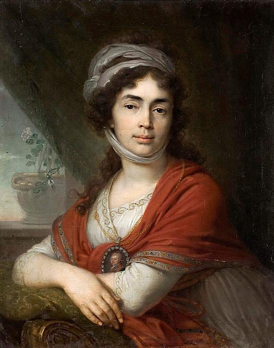 Portrait of Martha (Maria) Dmitrievna Dunina. Vladimir Borovikovsky