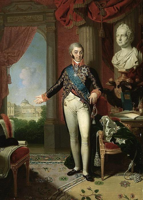 Portrait of Count Nikolai Petrovich Sheremetev <!--#8-->. Vladimir Borovikovsky