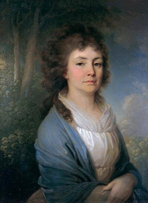 Portrait of Vera Ivanovna Arsenyeva. Vladimir Borovikovsky