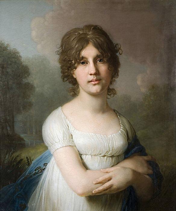 Portrait of Princess Gagarina Ekaterina Gavrilovna. Vladimir Borovikovsky