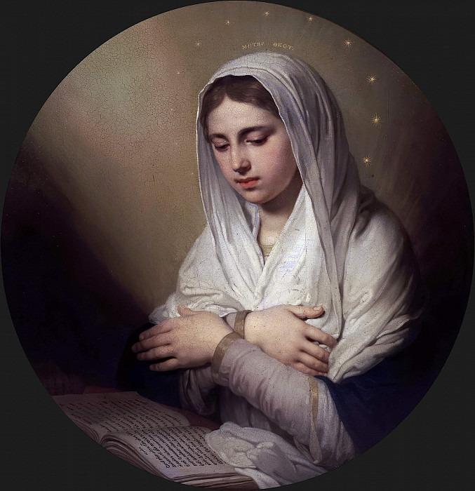 Дева Мария (из Благовещения). Владимир Лукич Боровиковский