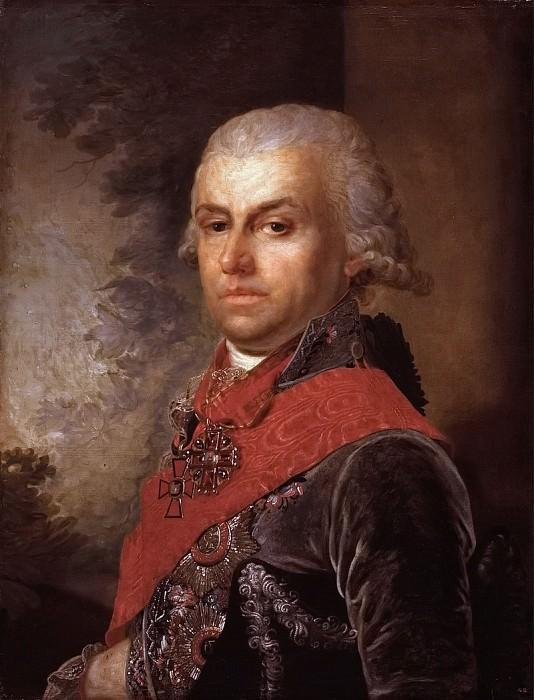 Portrait of Dmitry Prokofievich Troshchinsky. Vladimir Borovikovsky