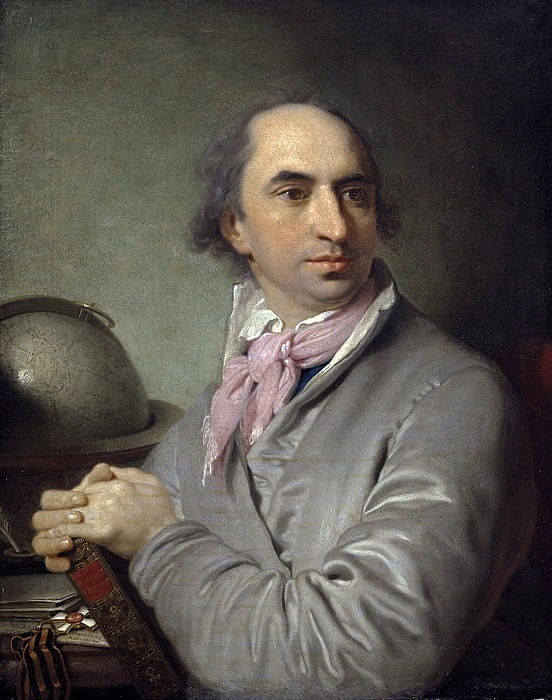 Portrait of the poet Alexander Semenovich Khvostov. Vladimir Borovikovsky