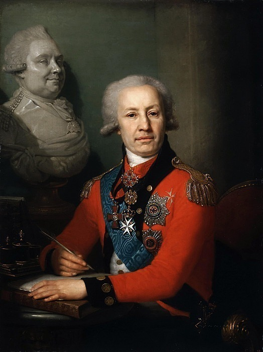 Портрет барона Алексея Ивановича Васильева. Владимир Лукич Боровиковский