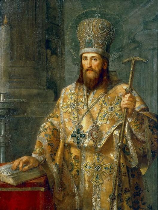 Portrait of the Metropolitan Dimitri Rostovsky. Vladimir Borovikovsky