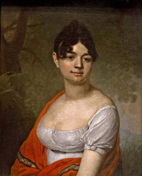 Portrait of an Unknown Woman. Vladimir Borovikovsky