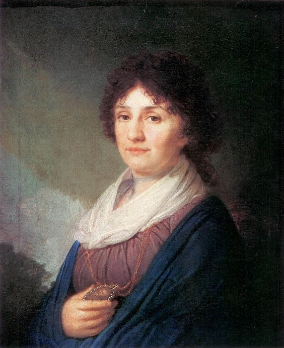 Portrait of Ekaterina Nikolaevna Davydova (1750–1825). Vladimir Borovikovsky