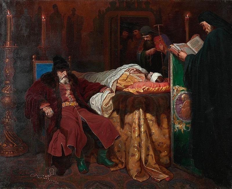 Иоанн Грозный у тела убитого им сына. Вячеслав Григорьевич Шварц