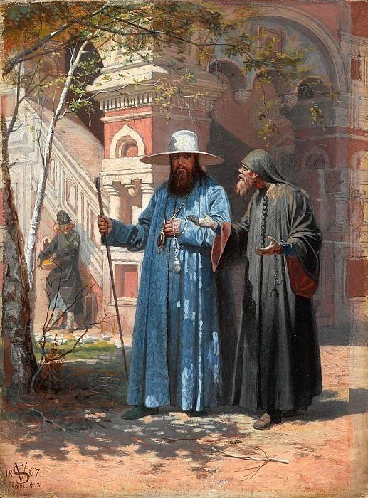 Patriarch Nikon in New Jerusalem. Vyacheslav Schwarz