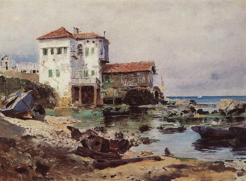Бейрут 1. 1882. Vasily Polenov