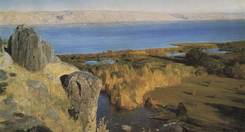 Генисаретское озеро. 1899. Vasily Polenov
