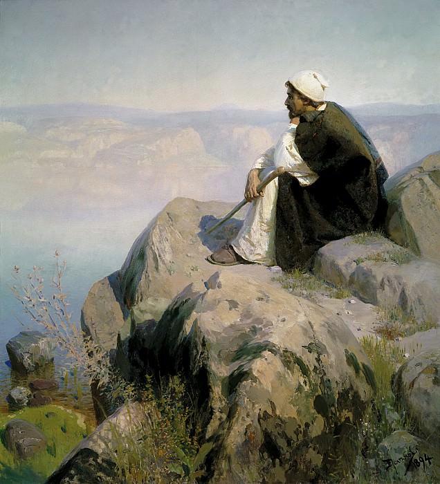 Мечты. 1894. Vasily Polenov