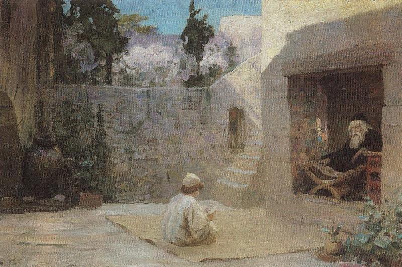 Исполнялся премудрости. 1896-1909. Василий Дмитриевич Поленов