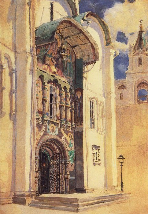 Успенский собор. Южные врата. 1877. Vasily Polenov