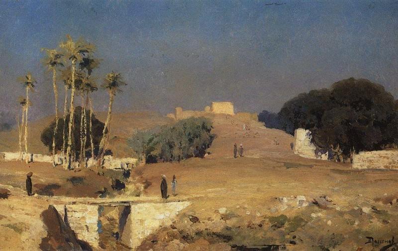 За старым Каиром. 1882. Vasily Polenov