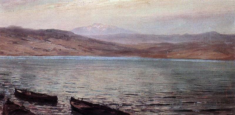 Тивериадское (Генисаретское) озеро 1. 1881-882. Василий Дмитриевич Поленов