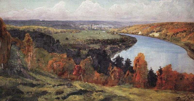 Долина Оки. 1902. Vasily Polenov