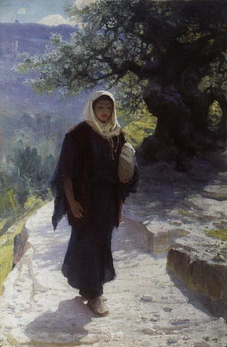 Пошла в Нагорную страну. 1894. Vasily Polenov