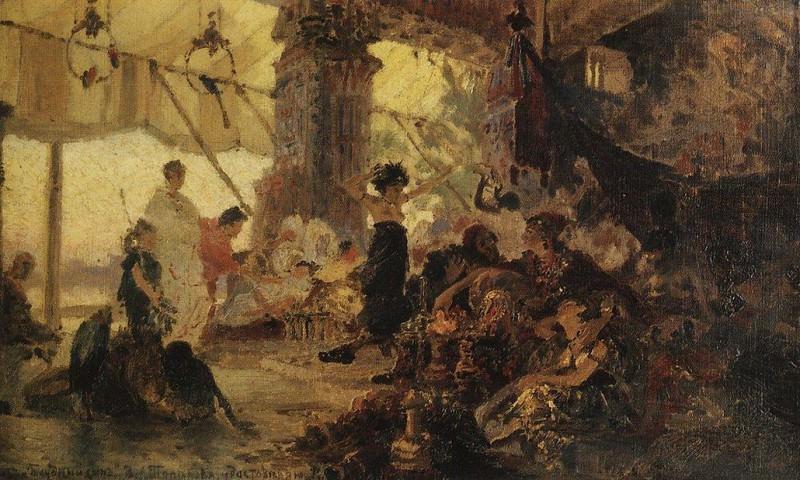Блудный сын 1. 1874. Vasily Polenov