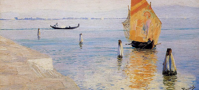 Polenv Vasily Laguna Murano Sun. Vasily Polenov